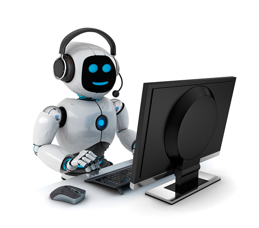 call center robot